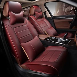 Genuine Leather Luxury Three-dimensional Car Seat Covers