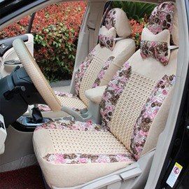 Princess Wind Style And Pink Colour Cost-Effective Car Seat Cover