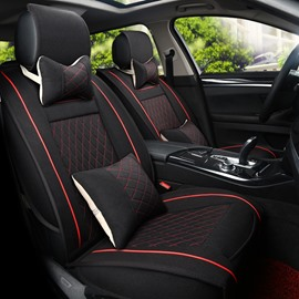 No Electrostatic Rubbing Permeability Flax And Natural Fibers Car Seat Cover