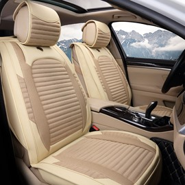 Simple Textured Reliable Quality Moderate Price Genuine Leather Car Seat Cover