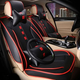 Colorful Printing Thick Durable Genuine Leather Skillful Manufacture Car Seat Cover