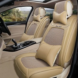 Fast Heat Dissipation Ice Silk And Rayon Luxurious Universal Car Seat Cover
