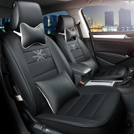 Beautiful Design Luxurious Rubbing Genuine Leather Car Seat Cover