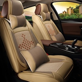 Cozy Luxurious Purifying Air Ice Silk And Rayon Car Seat Cover
