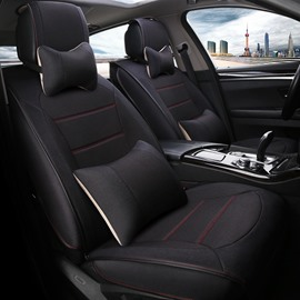 Colorful Luxurious Matching Interior Genuine Leather Car Seat Cover