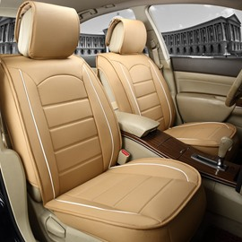 Delicate Colors Modern Pure Genuine Leather Universal Car Seat Cover