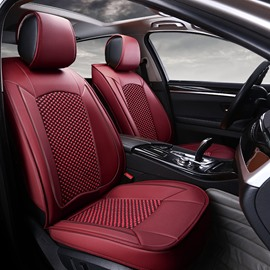 Classic Business Style Simple And Plain Design Custom Fit Car Seat Covers