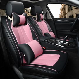 Simple And Casual Business Design Plain Trims Universal Car Seat Covers