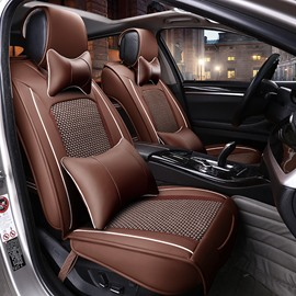 Classic Business Style Design Ventilating Patterns Universal Car Seat Cover