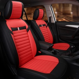 Comfy Simple Design Streamlined Dual Color Universal Fit Car Seat Covers