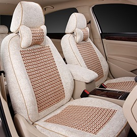 Luxury Series Woven Flax Material Extremely Comfortable Custom Fit Car Seat Covers