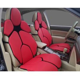 Futuristic Lambo Urus's Seat Style Red Custom Car Seat Covers
