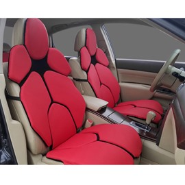 Futuristic Lambo Urus's Seat Style Red Custom Car Seat Covers