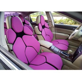 Futuristic Supercar Style Distinctive Rose Universal Car Seat Covers