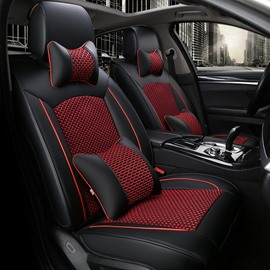 Refreshing Air Permeability Woven Classic Universal Car Seat Covers