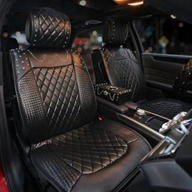 Popular Rivet Punk Style High Grade Universal Car Seat Covers