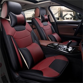 Luxurious Classic Stitching Color For Highlander RAV4 Etc Universal Car Seat Covers