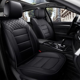 1 Piece Classic Business Style Leather Cost-Effective Single-Seat Universal Car Seat Cover