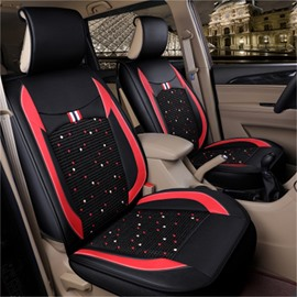 Ice Wire Backrest Sport Style Front Single-seat Universal Car Seat Cover