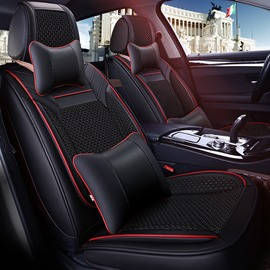 Classic Design Luxurious Business Style Leather Universal Car Seat Cover