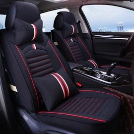 New 3D Stereoscopic Soft Linen Material Universal Car Seat Cover