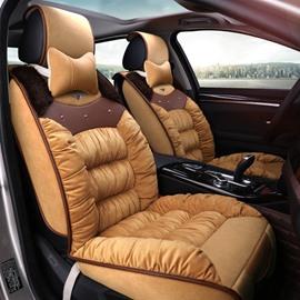 Popular Design Pretty Comfortable Plush Material Winter Universal Car Seat Cover