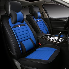 Younger Color Hopping And Classic Dual Colored Side Protective Universal Five Car Seat Cover