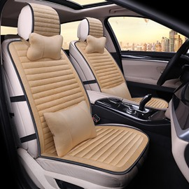 Popular Pure Color Casual Design Texture clear Universal Car Seat Covers