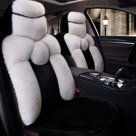 Classic Queen Style Soft Plush Universal Car Seat Covers