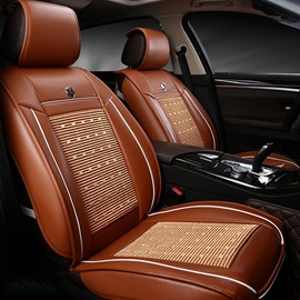 Business Style Leather Business Style Single-seat Universal Car Seat Covers