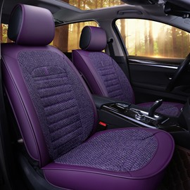 Durable Elegant Shape Modern Design Polyester Fibre Material Universal Car Seat Cover