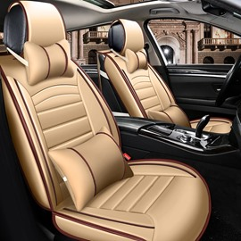 Unequaled Classic Design Compellent Universal Leather Car Seat Cover