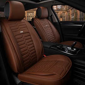 Acceptable Optimal Regular Design Universal Leather Car Seat Cover