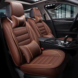 39 3D Waist Encircling Elegant Shape Leather Universal Car Seat Cover