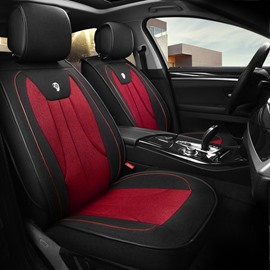 Simple and Generous Design Color Blocking Durable Universal Car Seat Cover