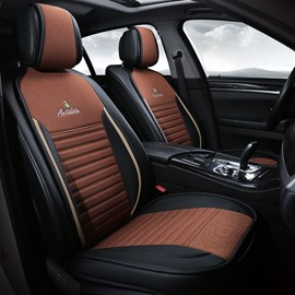 High Resilience Lustrous Soft and Antislippery Universal Car Seat Covers