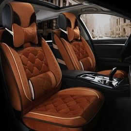 Extravagant Elegant Shape Luxuriant in Design Warm Winter Universal Car Seat Covers