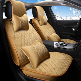 Luxury Pure Color Delicate Colors Conventional Universal Car Seat Covers