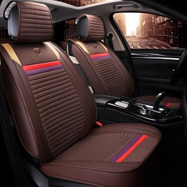 Sports Style Durable Modeling Color Blocking Universal Car Seat Covers