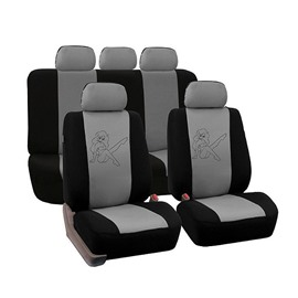 Environment-friendly Washable Durable Sex Girl Pattern Cloth Universal Car Seat Covers