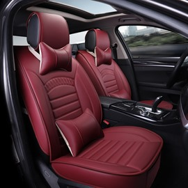 Classic Traditional Shape Design Pure Color Universal Car Seat Covers