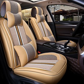 Multiple Fabric Combination Active Color Universal Car Seat Covers