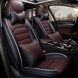 Luxuriant Design Durable Leather Material Universal Car Seat Covers