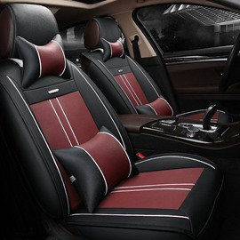 Classic Luxuriant In Design Business Matching Interior Genuine Leather Car Seat Cover