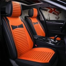 Bright Color Faddish Thick and Solid Universal Five Car Seat Covers