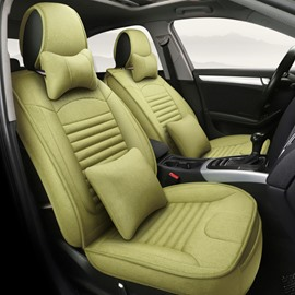 Newfangled Matcha Green Refreshing Durable Universal Car Seat Covers