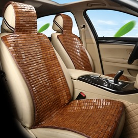 Natural Bamboo Slice Refreshing Pure Color Universal Single Car Seat Covers