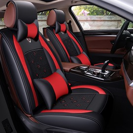Sports Style Excellent Leather Material Universal Cool Seat Covers