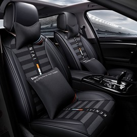 Five Seats Combination Type PU Material All Seasons Universal Seat Covers