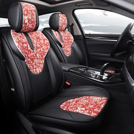 Unique Chinese Element Pattern Leisure Style Universal Car Seat Cover